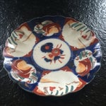 Image of Antique Imari Porcelain Plate
