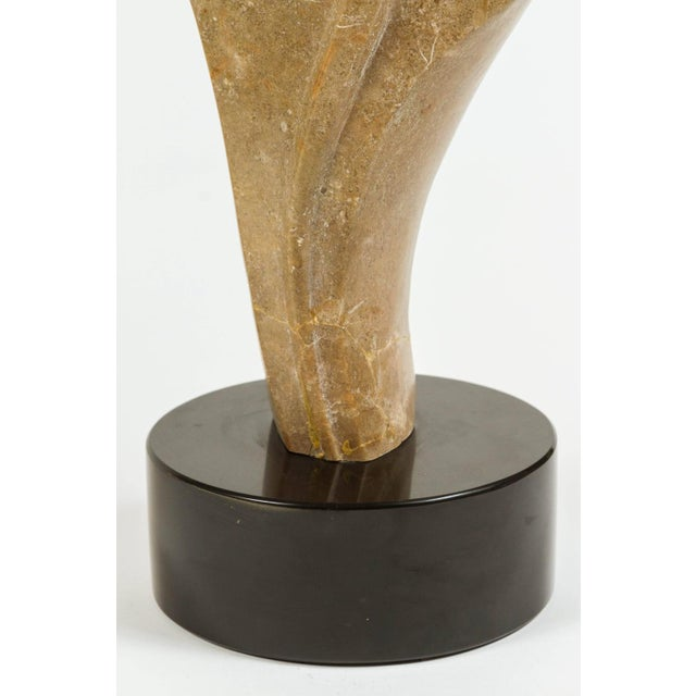 Abstract Stone Sculpture - Image 3 of 5