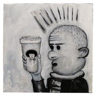 """""""Starbucks"""" Pop Art Cartoon by Junior Martin"""
