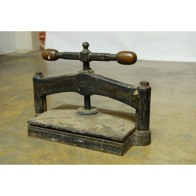 19th-C. English Book Press - Image 8 of 10