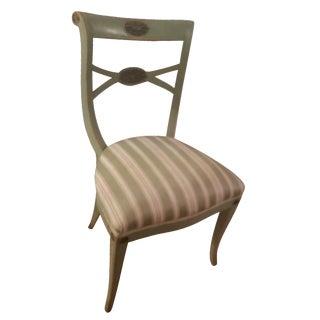 Vintage Hollywood Regency Side Chair