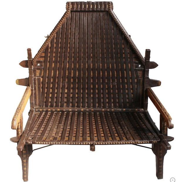 Original Teak Wood Furniture: Original Teak Ox Cart Bench