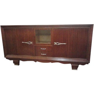 Vintage French 1940's Wave Sideboard