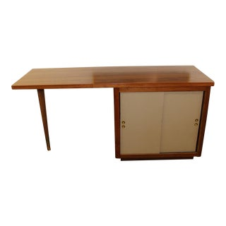 Mid-Century Modern Floating Desk