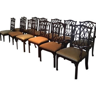 English Neo-Gothic Dining Chair - Set of 12