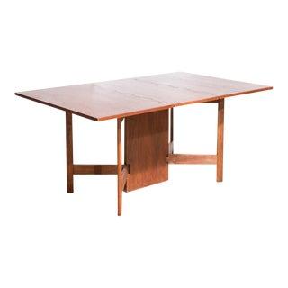 George Nelson For Herman Miller Walnut Gateleg Dining Table