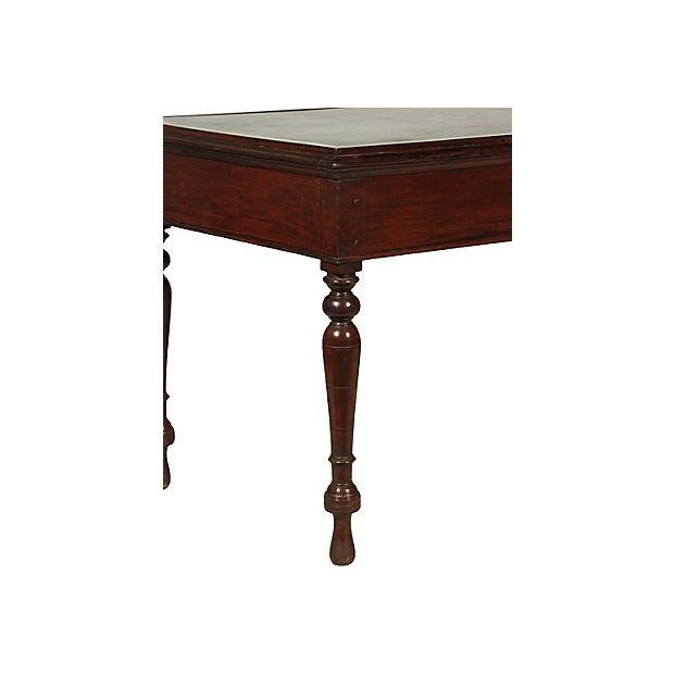 19th Cemtury British Colonial Writing Table - Image 7 of 7