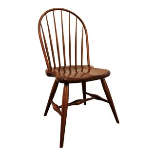 Contemporary Duckloe Bros Cherry Hoop-Back Windsor Side Dining Chair