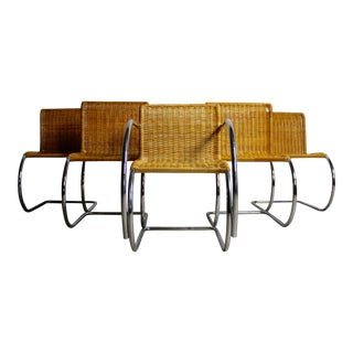 Ludwig Mies Van Der Rohe MR10 Chairs - Set of 5