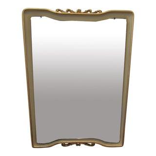 Parcel-Gilt Mirror by Osvaldo Borsani, Italy 1950s