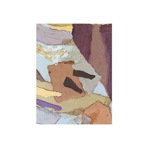 Mariette Bevington Mid-Century Collage - Image 3 of 5