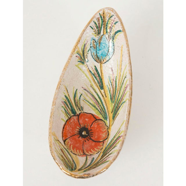 Fanciullacci / Londi Gilded Floral Bowl - Image 3 of 7