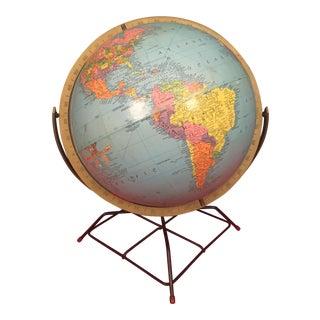 Mid-Century Replogle Globe