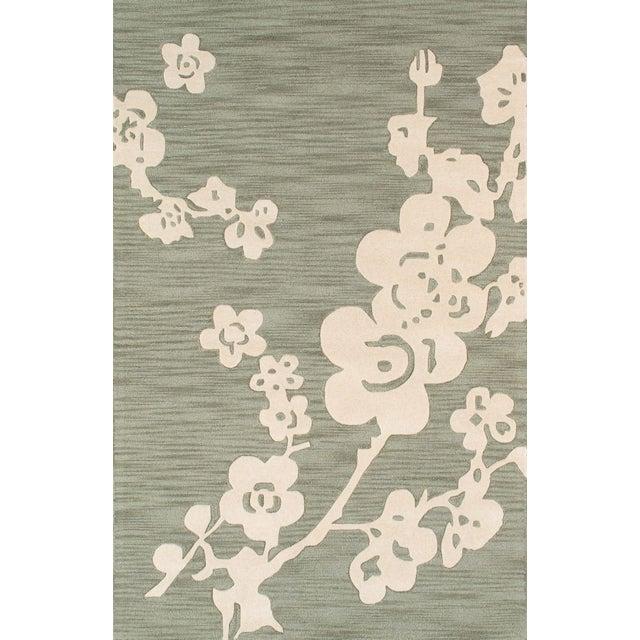 Pasargad Modern Silk & Wool Area Rug-5'x8' - Image 1 of 1