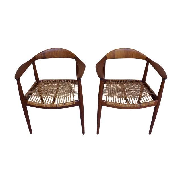 Hans Wegner Johannes Hansen 'The Chair' - A Pair - Image 1 of 10