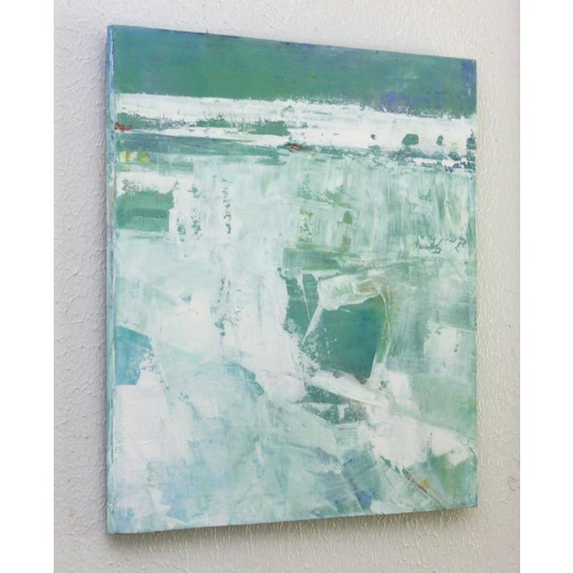 Original Abstract Beach Painting - Image 3 of 4