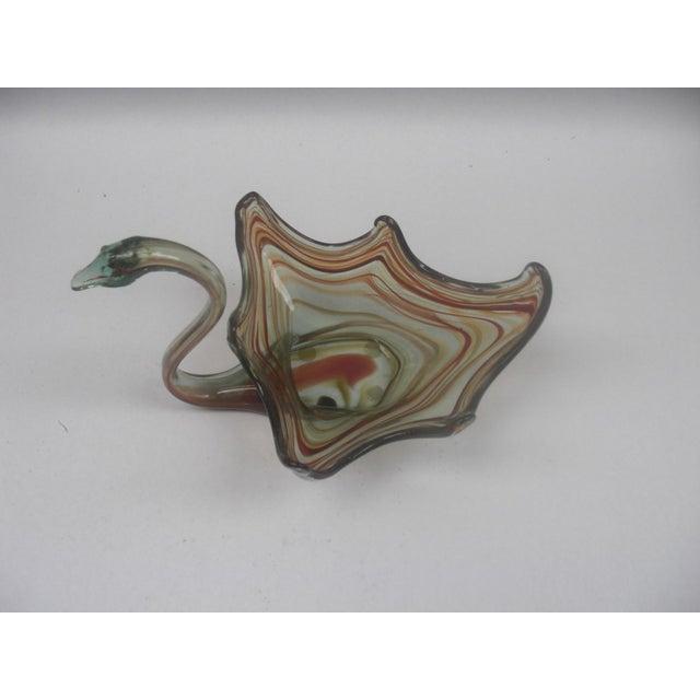1960's Italian Art Glass Swan - Image 3 of 3