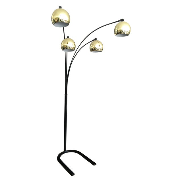 Mid Century Modern Arc Lamp - Image 1 of 8