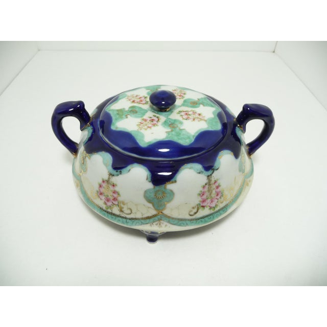 Antique Nippon Biscuit Jar - Image 3 of 7