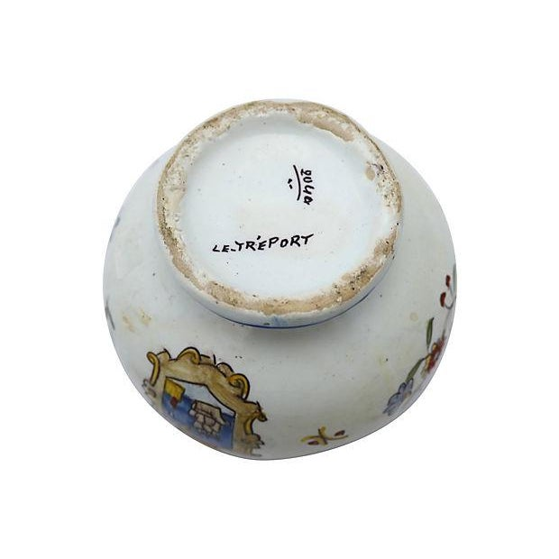 Antique French Faience Potpourri Pot - Image 3 of 5
