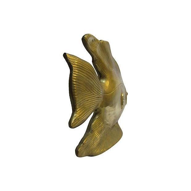 Large Brass Fish - Image 4 of 4
