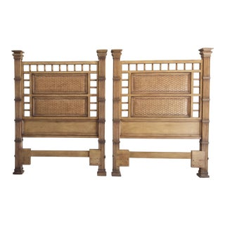 Twin Headboards Square Tommy Bahama Look - A Pair