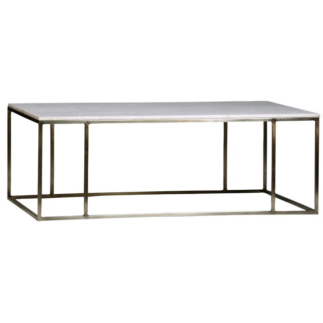 White Marble Top Coffee Tables: White Marble Top Coffee Table