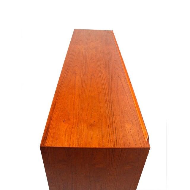 Rare Arne Vodder Danish Modern Teak Highboard - Image 5 of 10