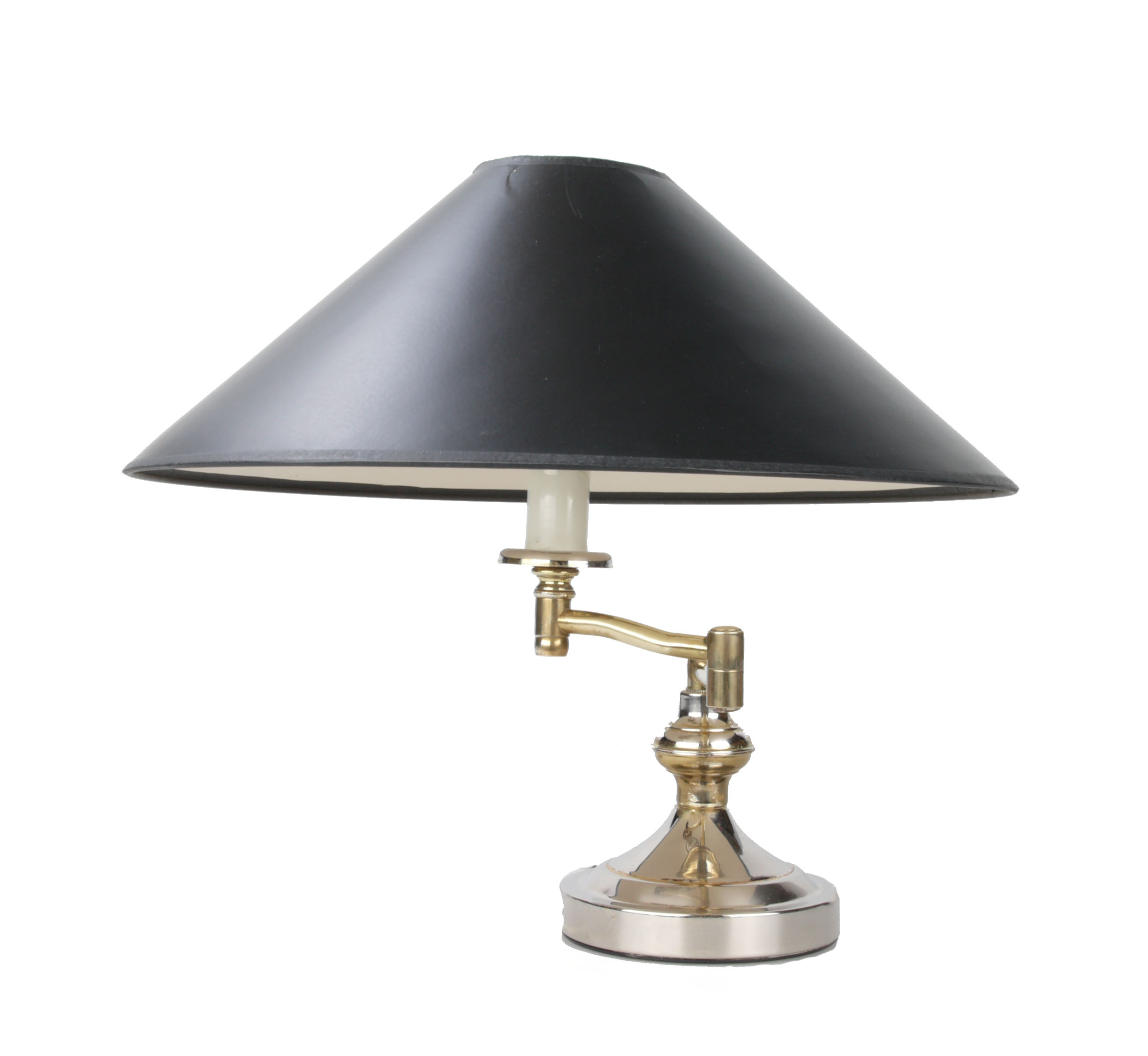Heyco Brass Swing Arm Table Lamp   Image 2 Of 10
