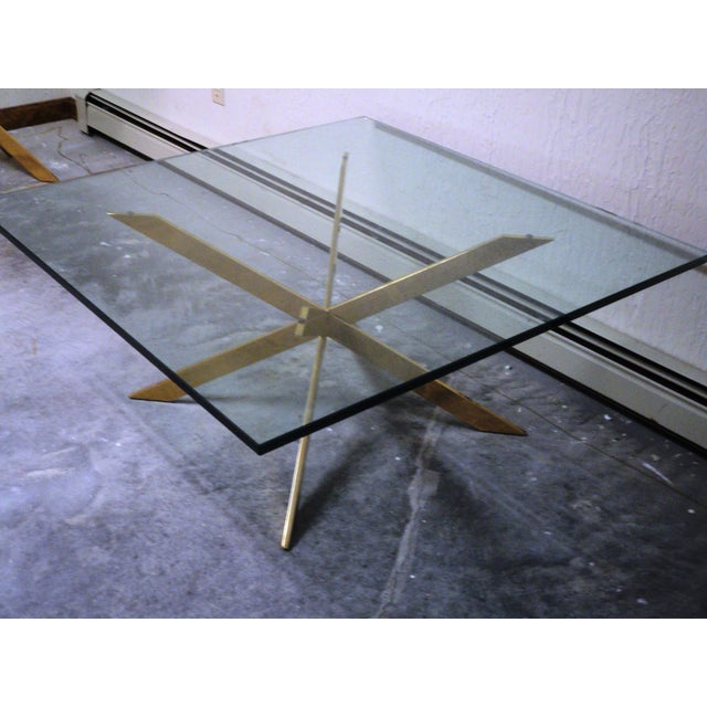 Pace Collection Double X Coffee Table Base - Image 11 of 11