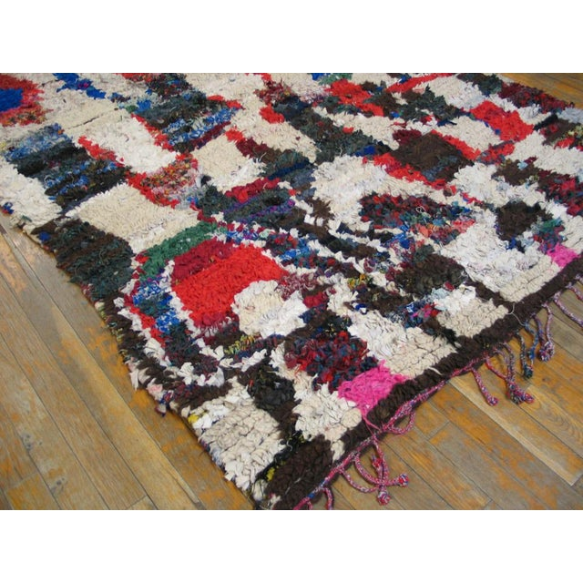 "Traditional Moroccan Wool Rug - 4'8"" X 8'8"""