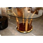 Image of Exotic Wood Henredon Dining or Center Hall Table