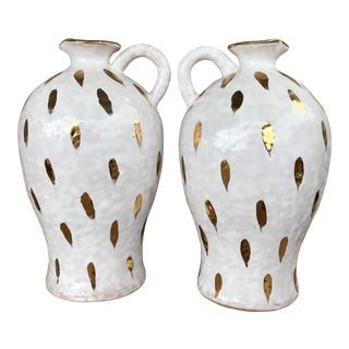 Vintage Italian Petite Pitchers - A Pair