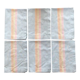 Oxford Stripe Napkins - Set of 6