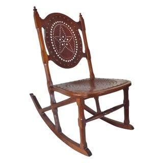 Antique Childs Rocking Chair C. 1872