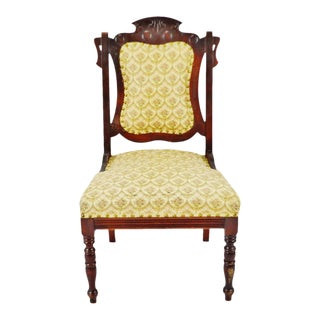 Victorian Upholstered Accent Chair