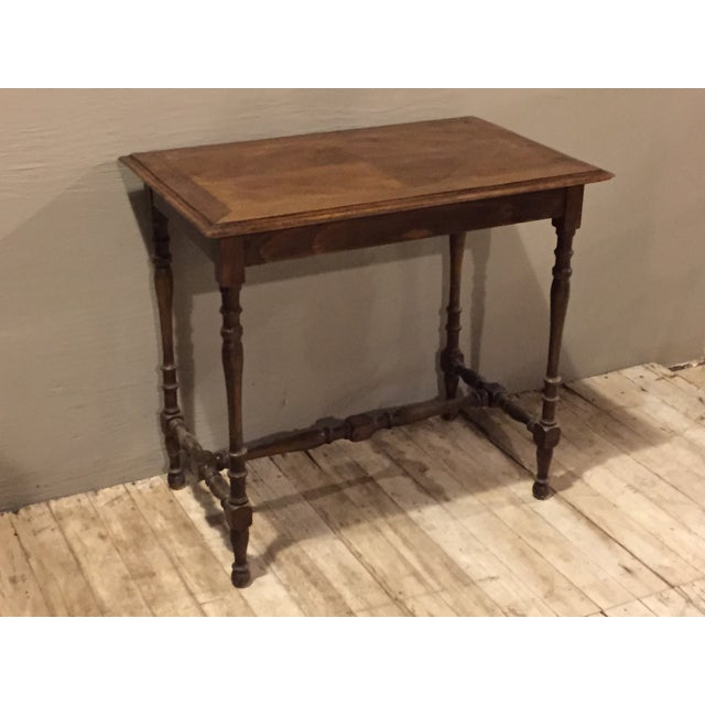 Antique 1880s Directoire Table with Carved Legs - Image 4 of 6