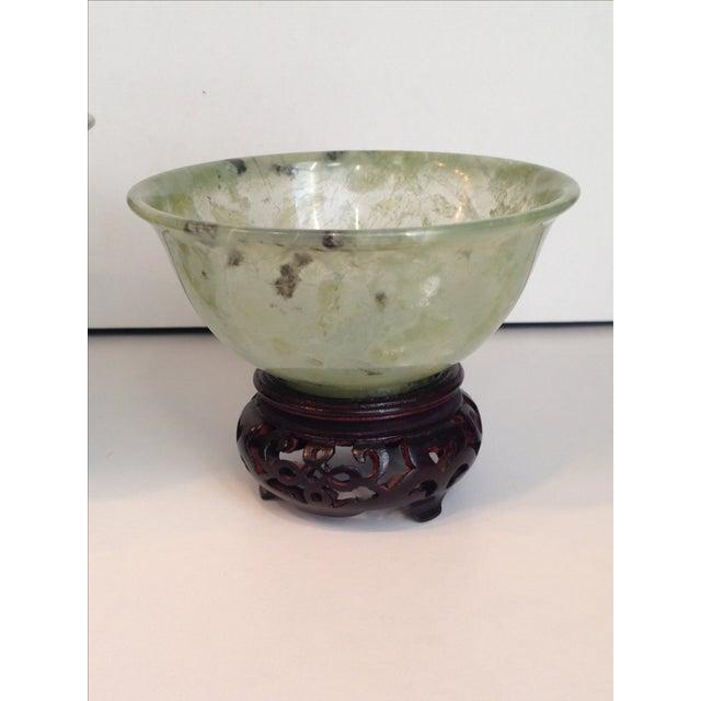 Vintage Jade Bowls - Pair - Image 4 of 4