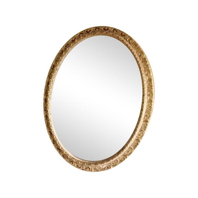 Image of Vintage Oval Mirror