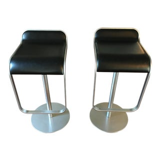 Lem Piston Bar Stools by LaPalma Italy - A Pair