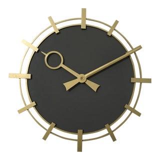 Industrial Factory Workshop Wall Clock from Siemens, 1970s