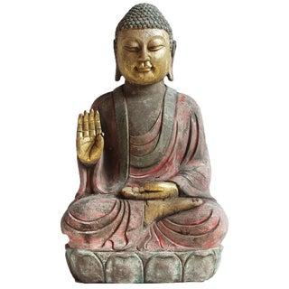 Stone Garden Buddha
