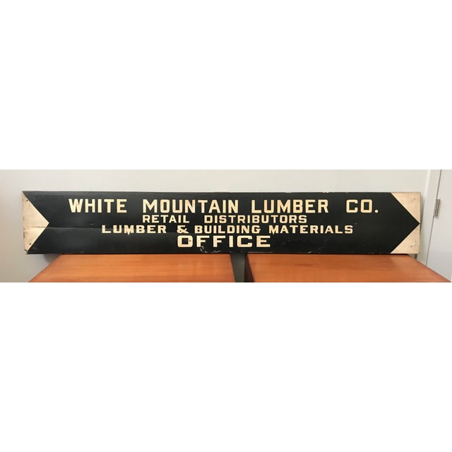 Vintage Hand Painted Lumber Yard Sign - Image 2 of 4