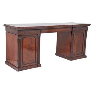 English Mahogany Pedestal Sideboard – Buffet