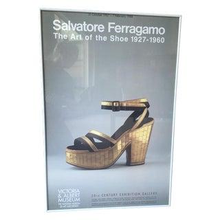 Salvatore Ferragamo Exhibition Poster