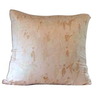 Custom Made Hermes Scarf Pillow