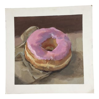 Original Donut Illustration by Anna Heigh
