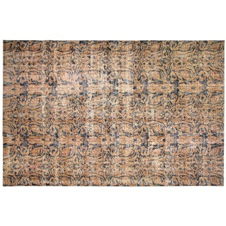 "Turkish Art Deco Rug - 6'7"" x 10'"