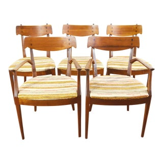 Kipp Stewart for Drexel Mid-Century Dining Chairs - Set of 5