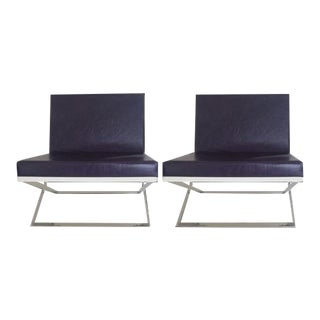 Louis Kazan Kalup Occasional Chairs - A Pair